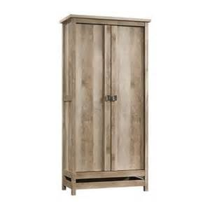 sauder cannery bridge 72 in lintel oak storage cabinet