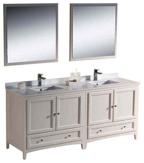houzz bathroom vanities white 72 inch sink bathroom vanity in antique white
