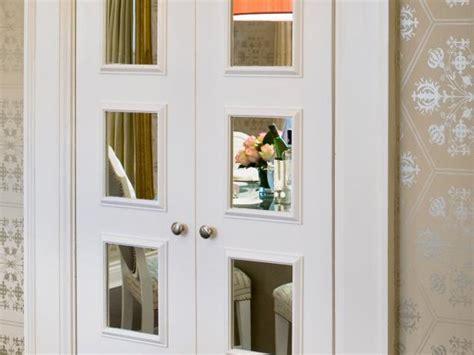 wood sliding closet doors options for mirrored closet doors hgtv