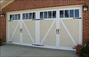 Carriage style garage doors carroll garage doors for Carriage style garage doors prices