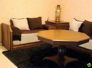 Banquette Salon Marocain : banquette salon marocain ~ Teatrodelosmanantiales.com Idées de Décoration