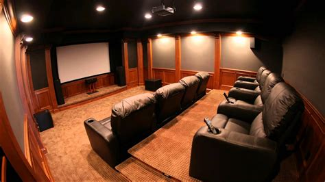 home theater room sound  hush