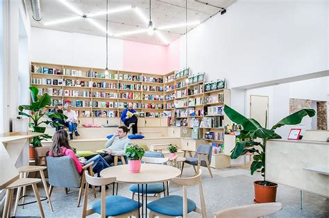 Open a coffee shop bookstore business. This Trendy Coffee House and Bookstore in Poznan was an Old Milk Bar!