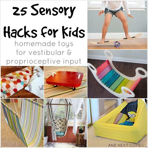 sensory hacks  kids  vestibular proprioceptive