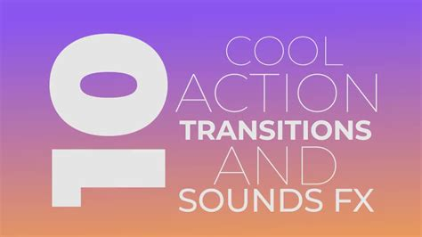 Cool Transitions After Effects Templates by Cool Action Transitions Premiere Pro Templates
