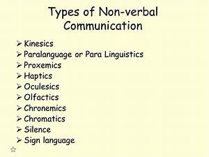 Nonverbal Communication - ppt video online download