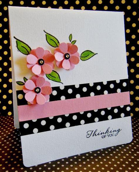cards floral pink images  pinterest card