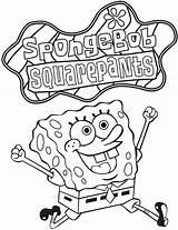 Coloring Printable Sponge Bob Easter Spongebob Popular sketch template