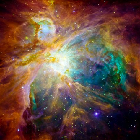 Orion nebula: the heart of the artwork | Source ...