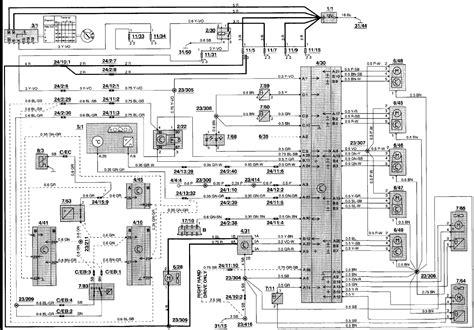 1993 Volvo Wiring Schematic Battery by 1993 Volvo 940 Wiring Diagram Wiring Diagram Database