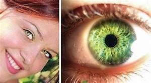 Yeux Verts Rares : le myst re derri re la couleur des yeux et pourquoi les ~ Nature-et-papiers.com Idées de Décoration