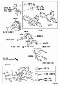 Lexus Es 350 Engine Water Pump Pulley  A Pulley That