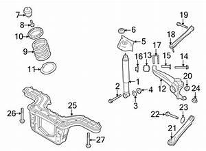 Ford Escape Suspension Trailing Arm  Left  Drive  Wheel