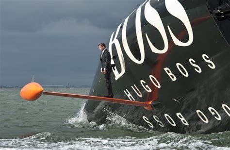 alex thomson hugo boss keel walk  daily sail