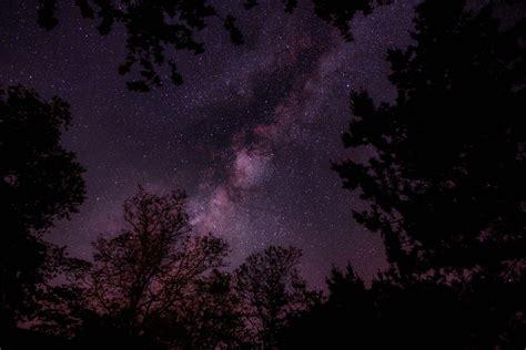 picture dark stars night nature sky fantasy