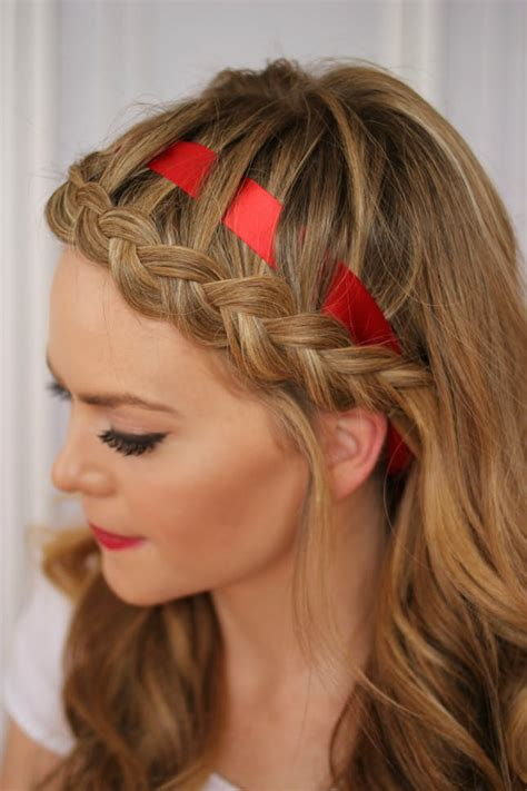 12 ways to rock ribbon in your hair brit co