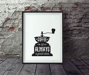 Poster Für Küche : poster kaffee vintage poster k che wandbild k che ~ Michelbontemps.com Haus und Dekorationen