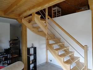 Escalier 1 4 Tournant Droit : escalier 1 4 tournant cr maill re al s gard les angles beaucaire ~ Dallasstarsshop.com Idées de Décoration