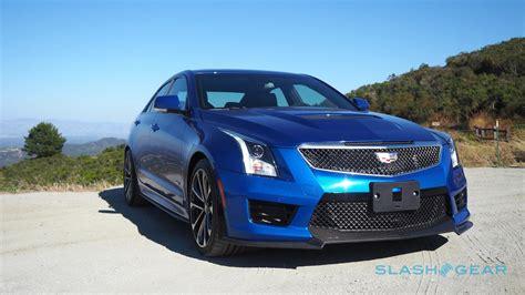 Cadillac Ats V Review by 2016 Cadillac Ats V Review Slashgear