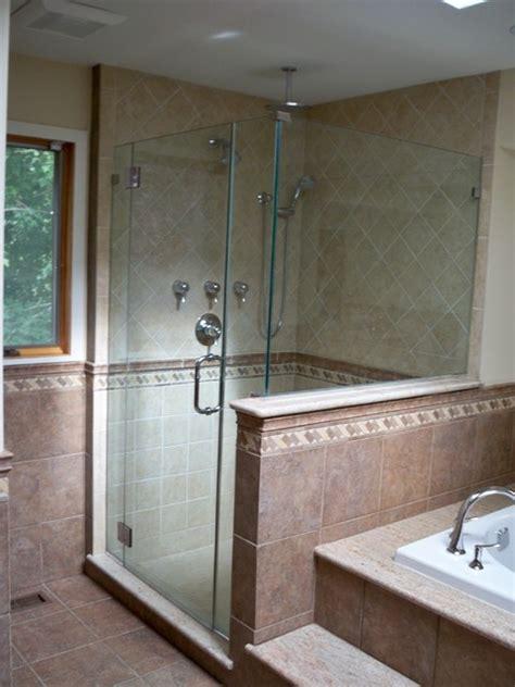Bathroom Shower Stalls Ideas Custom Porcelain Shower Stall Traditional Bathroom Philadelphia By Blue Tree Builders Llc