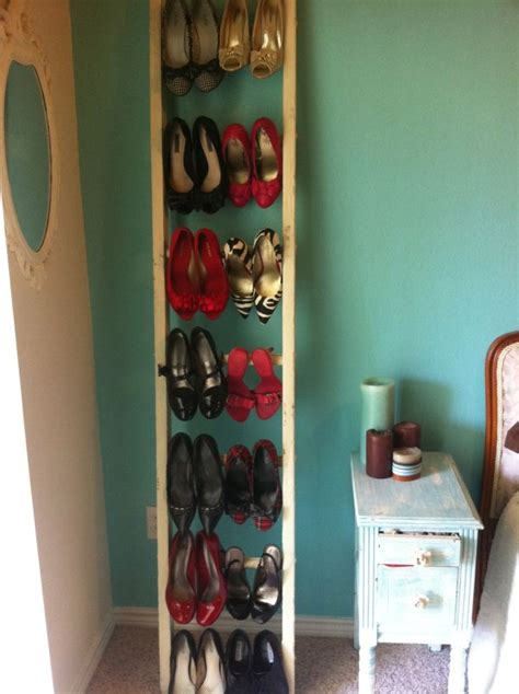 vertical shoe rack plans plans diy   cross