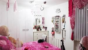 Zimmer Trennen Ikea : pink wei es m dchen zimmer ikea m bel organisation ~ A.2002-acura-tl-radio.info Haus und Dekorationen