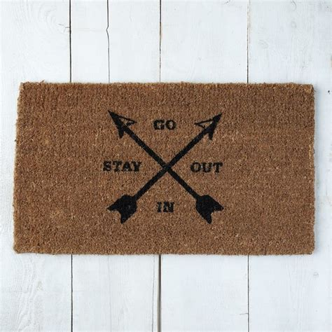 west elm doormat go in stay out coir doormat contemporary doormats