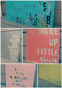Quotes on canvas art sisters what