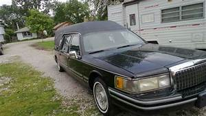 Find Used 1993 Lincoln Town Car Hearse 2