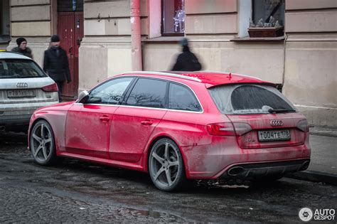 Audi Rs4 by Audi Rs4 Avant B8 30 January 2017 Autogespot