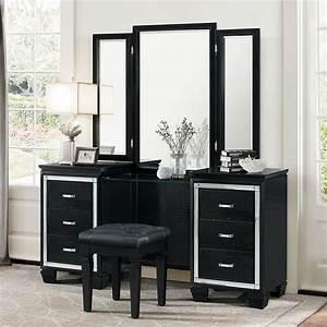 Black Vanity Dresser With Mirror ~ BestDressers 2017