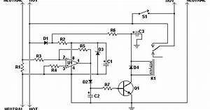 Automatic Load Sensing Power Switch Circuit Diagram