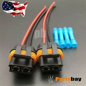 2x Fan Cooling Connector Pigtail Wiring Harness Corvette