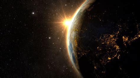world    future sunrise planet earth