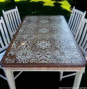 best 25 stenciled dining table ideas on pinterest diy With what kind of paint to use on kitchen cabinets for mosaic butterfly wall art