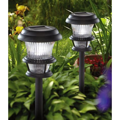 10 pk of westinghouse 174 trifecta solar lights black