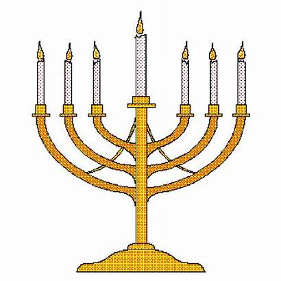 Clipart Menorah Candles Christian Candlestick Clip Candle