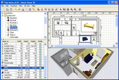Wohnraumplaner 3d Kostenlos by Sweet Home 3d Downloaden Computer Bild