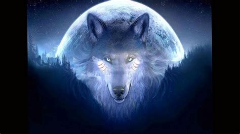 wolf   moon wallpapers wolf wallpaperspro
