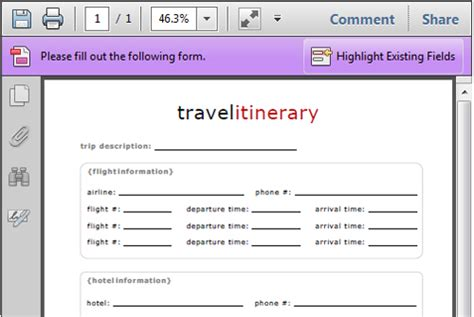 trip itinerary maker 4 travel itinerary templates excel xlts