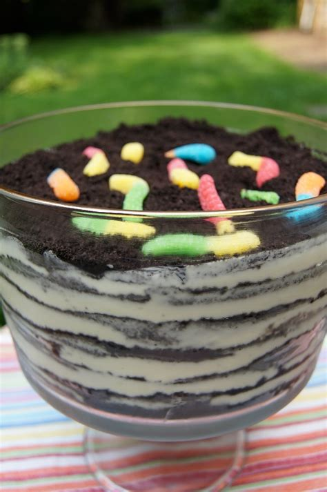 dirt cake with gummy worms pin oreo dirt cups with gummy worms a delicious treat my