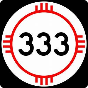 Number Designs File New Mexico 333 Svg Wikipedia