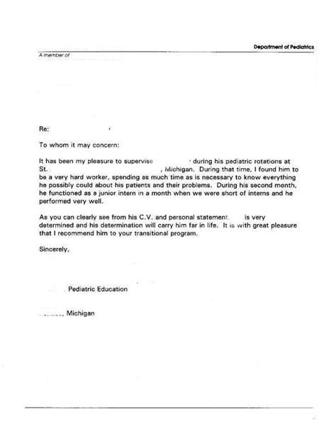 letter  recommendation format fotolipcom rich image