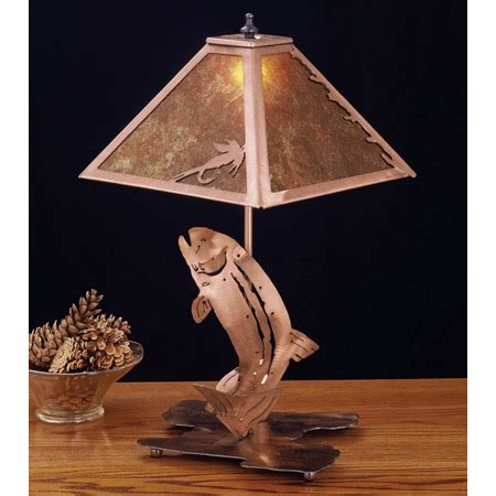 meyda  trout table lamp
