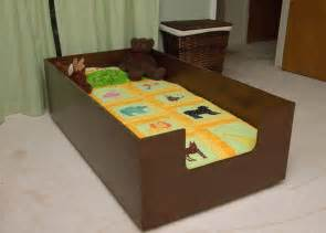 toodler bed diy toddler bed so he can t roll out aiden s room