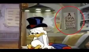 Disney Conspiracy Illuminati - Donald Duck - Lazer Horse