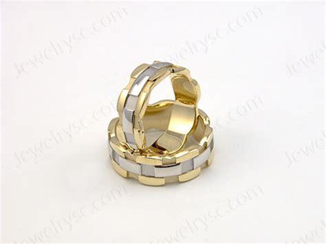 chain ring wedding rings jewelry