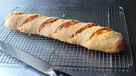 salami bread     stuffed bread recipe youtube
