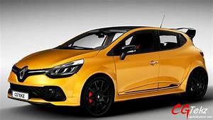 Renault Clio Trend 2018 : renault clio rs 2018 3d model cgtrader ~ Melissatoandfro.com Idées de Décoration