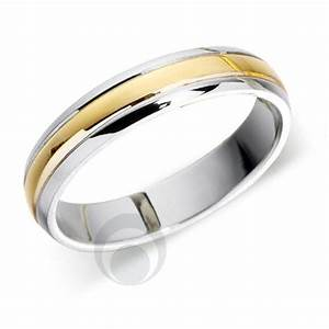 Platinum 18ct white gold wedding ring wedding dress from for Gold and white gold wedding rings